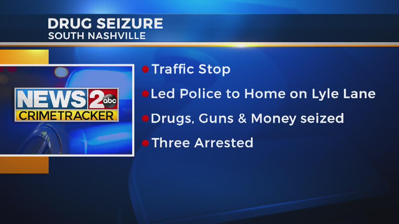 More than 200K in cash seized in South Nashville drug bust