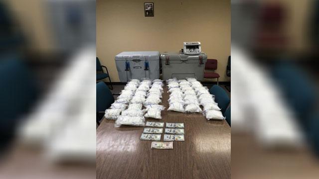 Two men arrested after multi-million-dollar drug bust in Clarksville