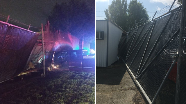 Chattanooga police headquarters crash