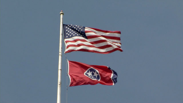 American Flag, Tennessee Flag generic_287178