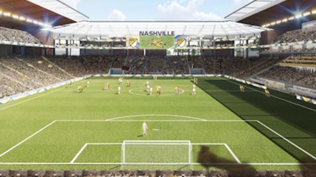 Nashville soccer stadium generic