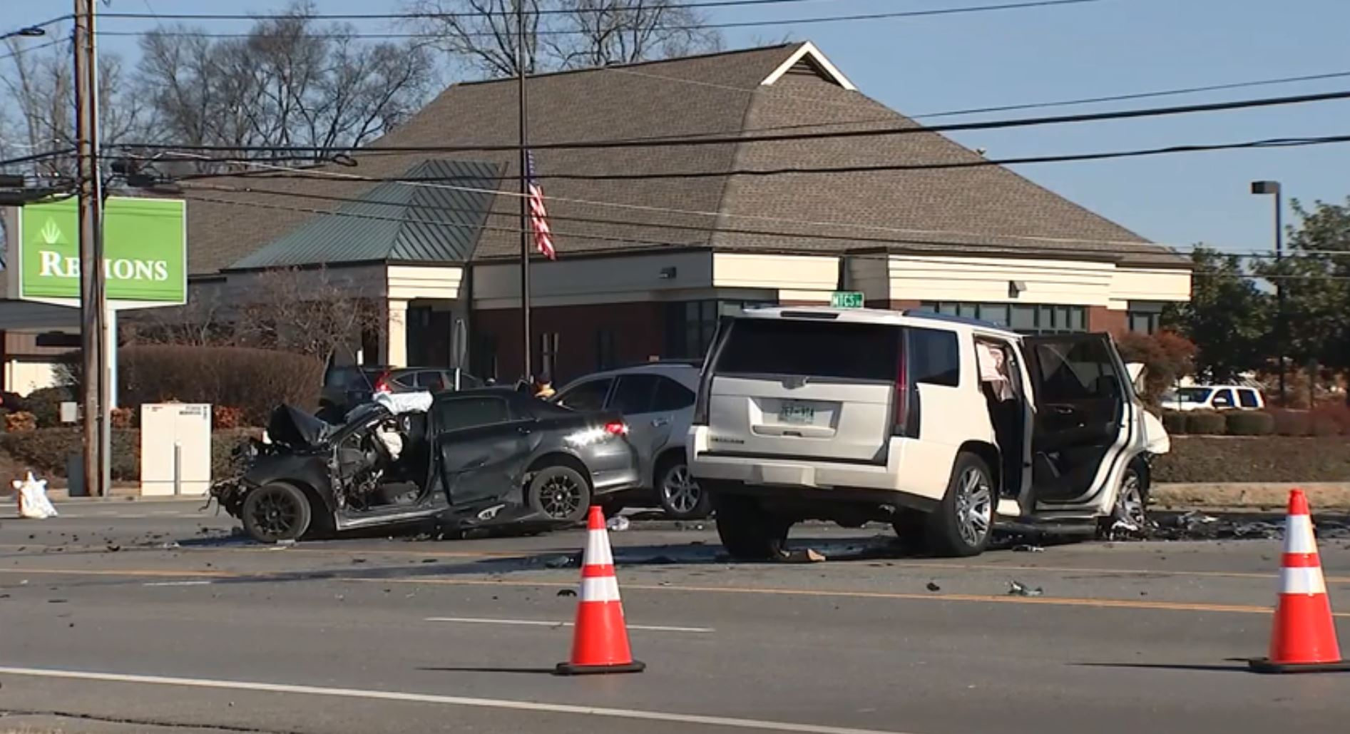 Man dies in 3-car crash at dangerous Murfreesboro intersection