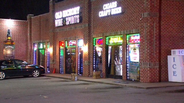 Old Hickory Wine and Spirits break-in