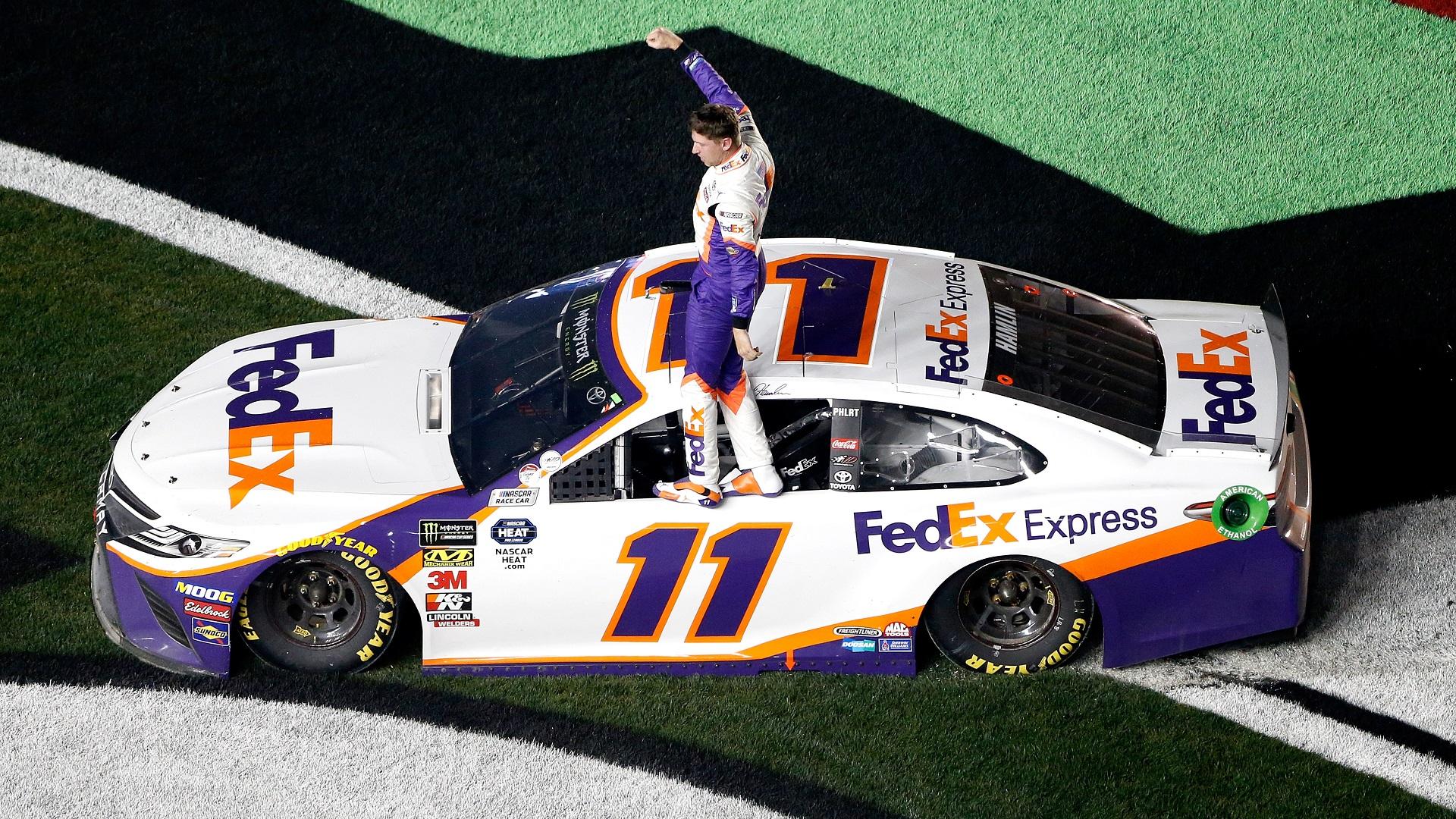 Denny Hamlin winner daytona-846652698