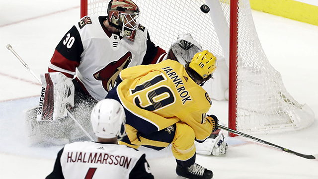 Preds win over Coyotes