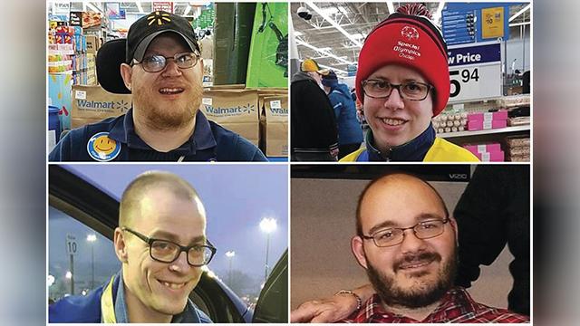 Walmart greeters