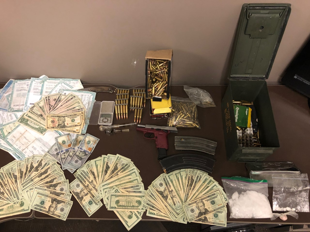 Agents seize drugs, stolen merchandise from Maury Co  home