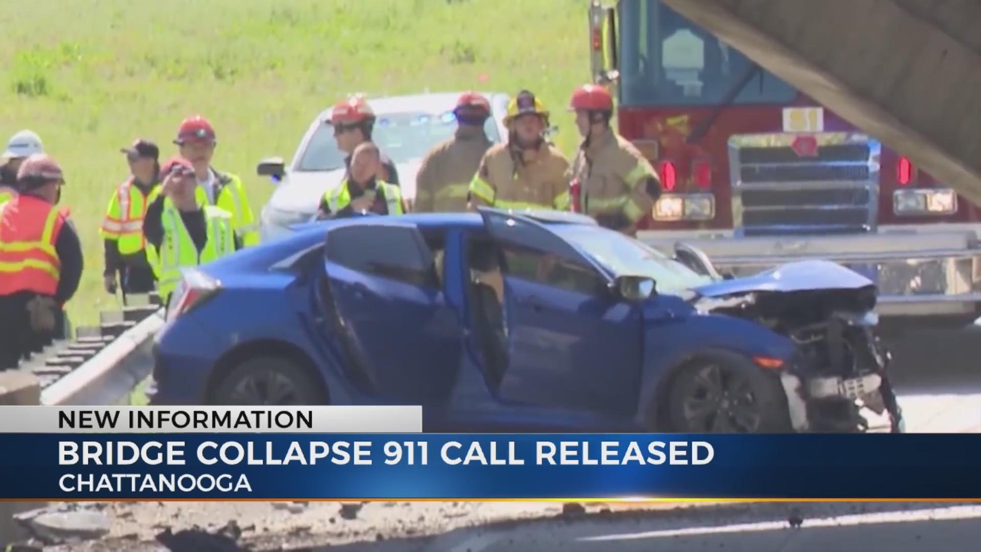 Injured driver recalls bridge collapse in Chattanooga