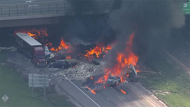 Multiple people killed in Colorado after massive highway crash, fire