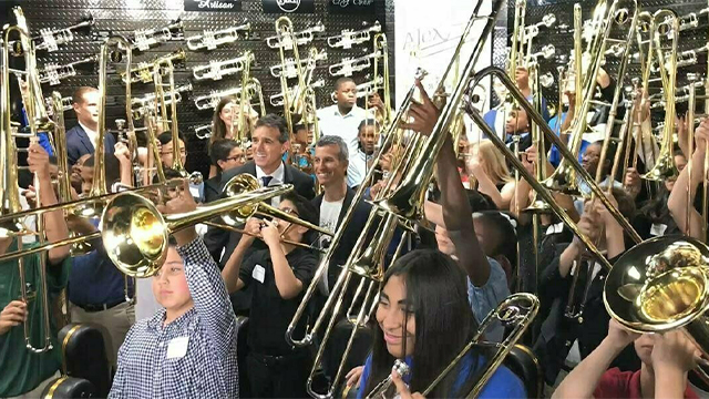 Parkland trombones