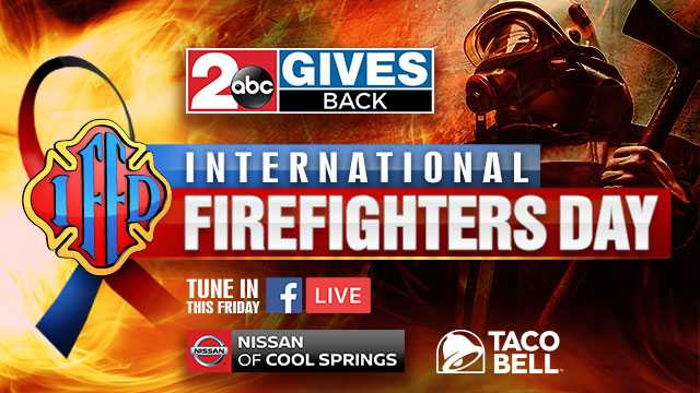 2 gives back international firefighters day