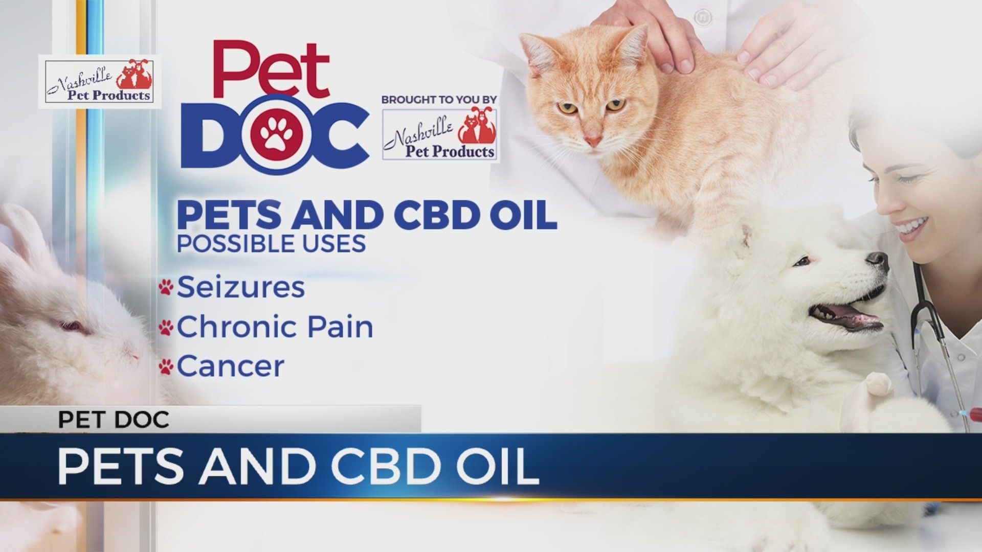 Pet Doc: Are CBD products safe for our pets?