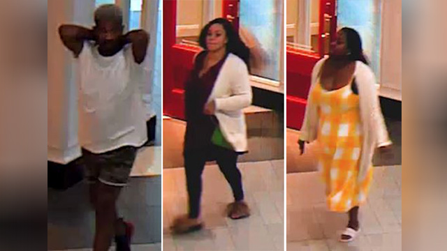 3 wanted for stealing $3K in perfume from Cool Springs