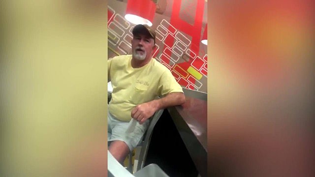 Chatham County Sheriff racist McDonald's