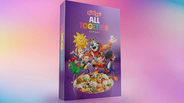 Kellogg LGBTQ cereal