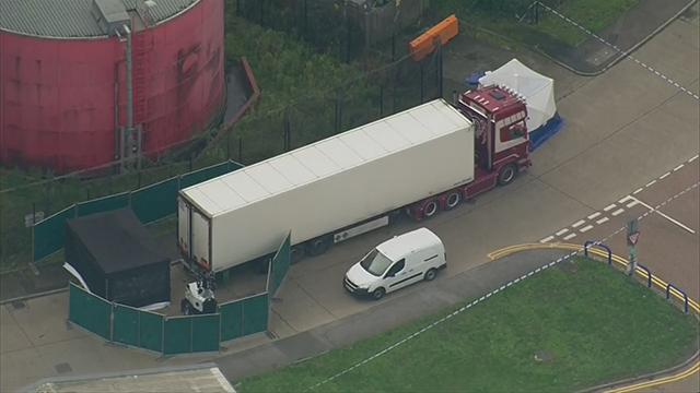 England bodies found in truck