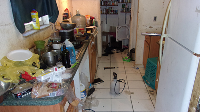 Flagler County filthy home