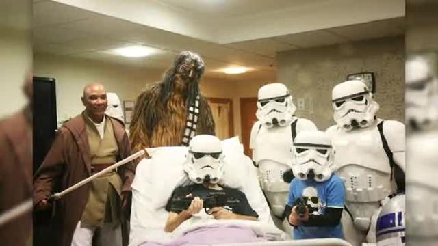 Hospice patient star wars