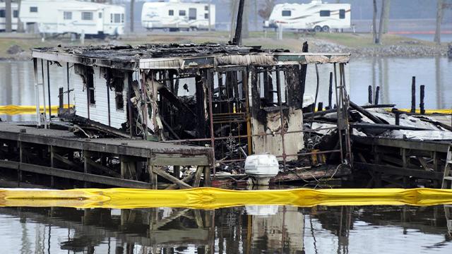 Alabama marina fire