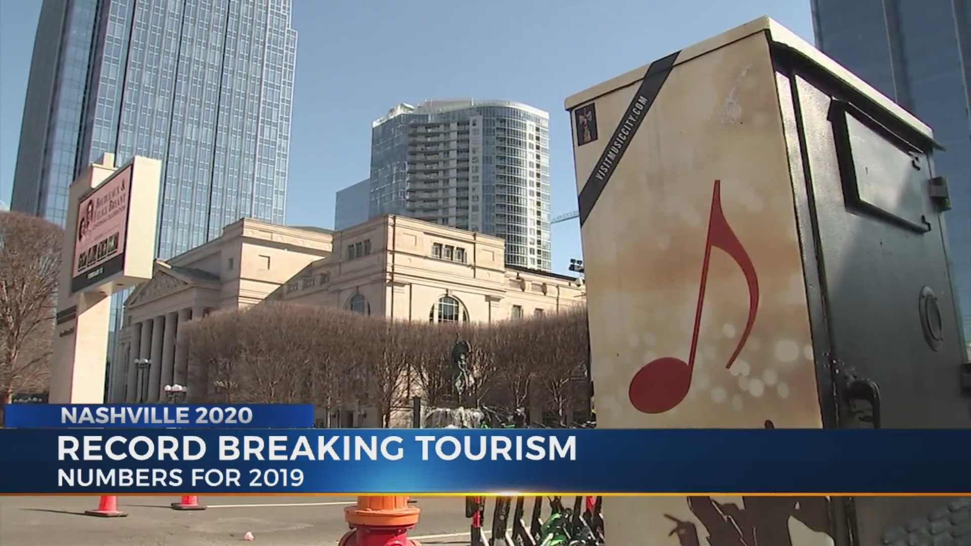 Nashville 2020: Record breaking tourism