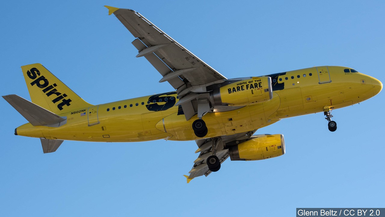 Spirit Airlines Generic MGN