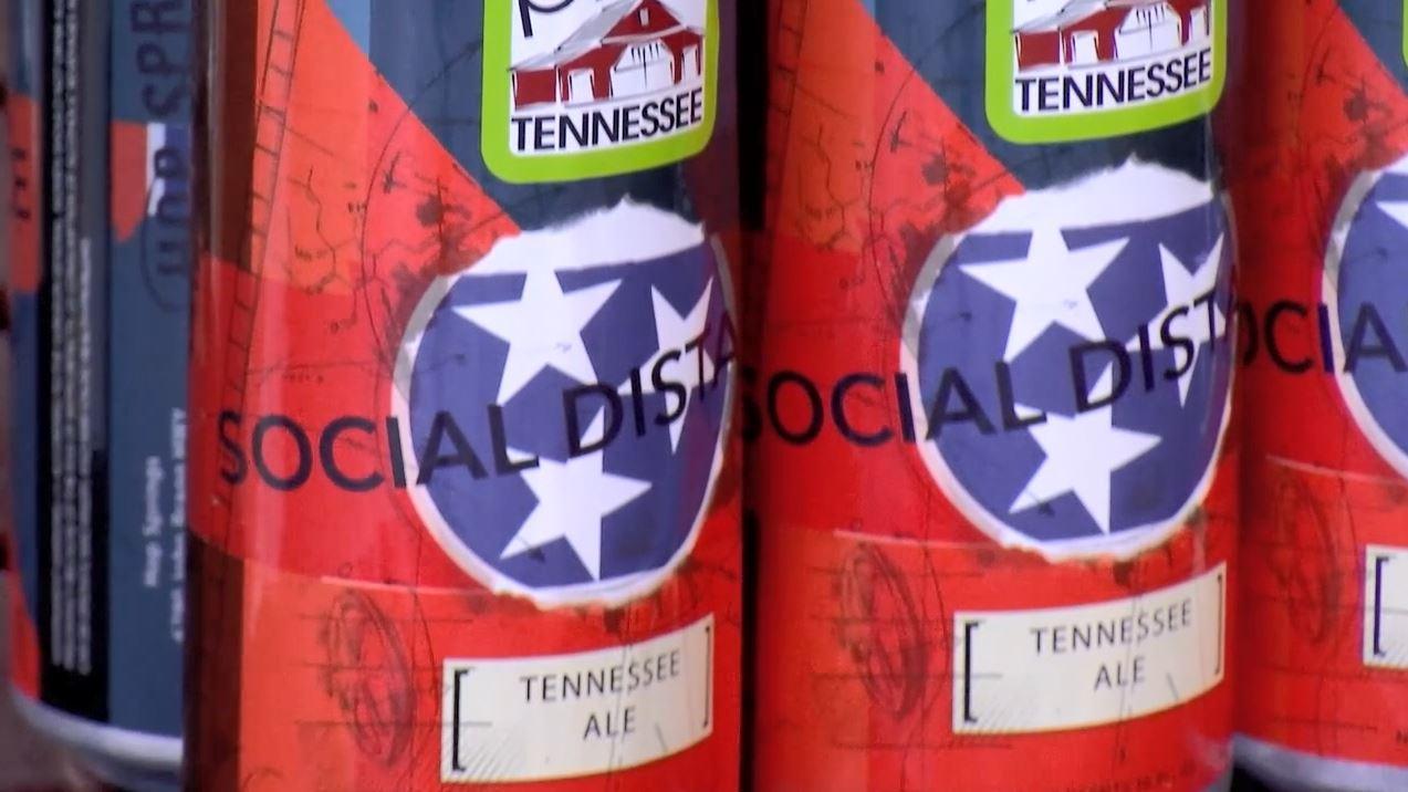Social Distance beer