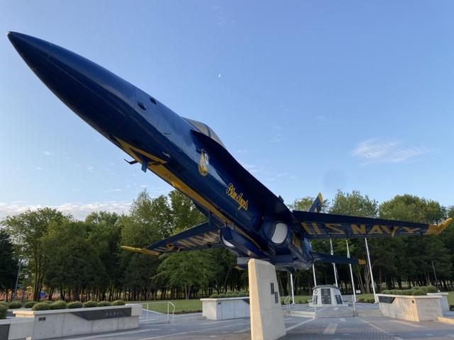 Jeff Kuss Blue Angels memorial
