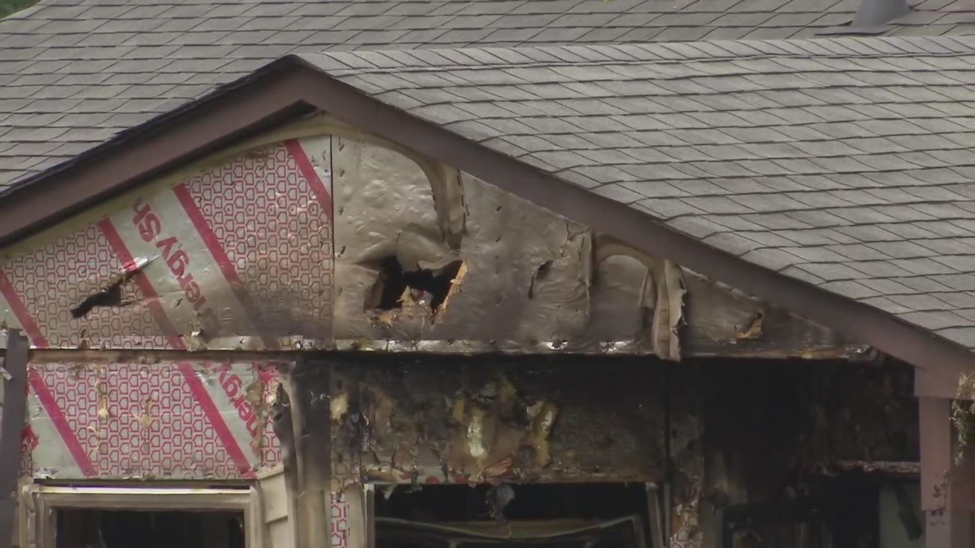 Chesapeake Court fire