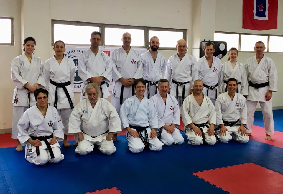 BBO – Black Belts Only International Seminar in Rome
