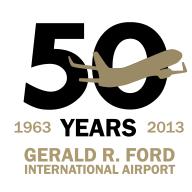 GR airport logo