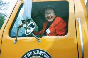 Judith Moss Wylie loved the City of Kentwood.