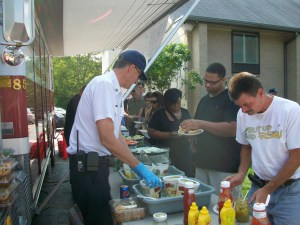 Wyoming firefighters and police officers and some of their family members served the public.
