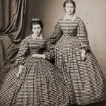 victorian-civil-war-striped-gowns