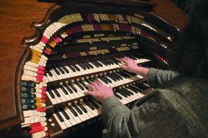 The Saturday organ concert.....
