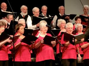 The Kentwood Senior Chorale at a recent concert.