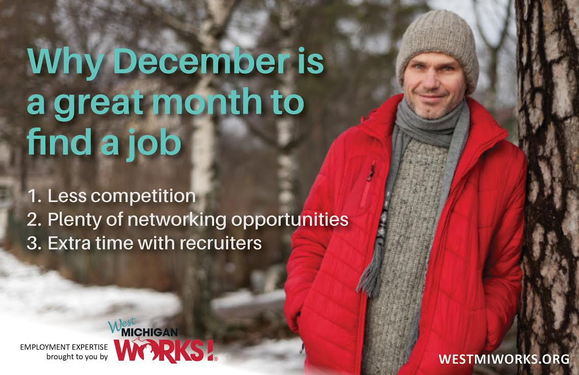 December is a great month to find a job