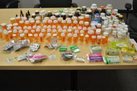 These are some of the medications collected by the LaPorte County Sheriff's Office.