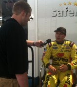Mitch Columbe interviewing David Gilliland