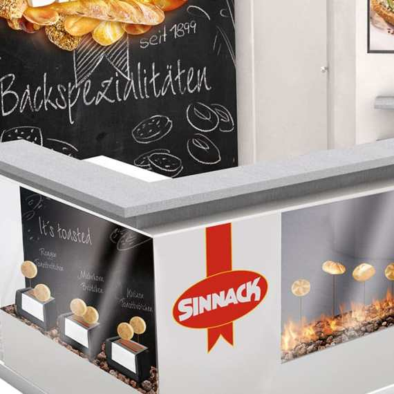 Sinnack Messestand