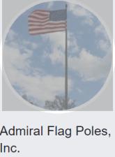 admiral flag poles