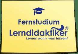 Lerndidaktiker Fernstudium