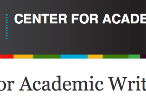 Center for Academic Writing: An Interview with Central European University's Agnes Toth