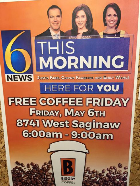 Free coffee friday poster_152777