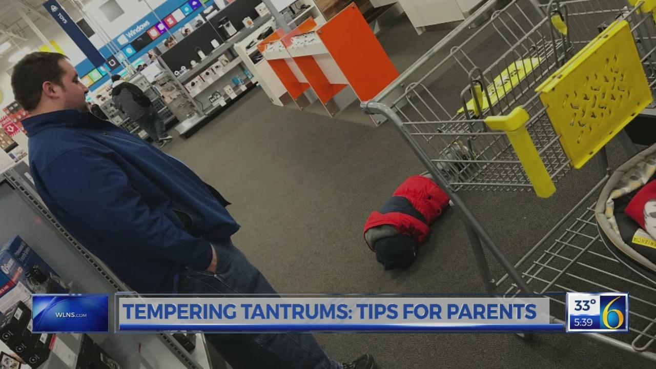 Parenting: Controlling tantrums