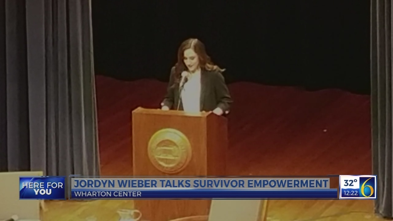 Jordyn Wieber on survivor empowerment