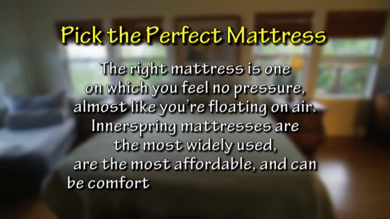 Mattress Source   Pick Perfect Mattress