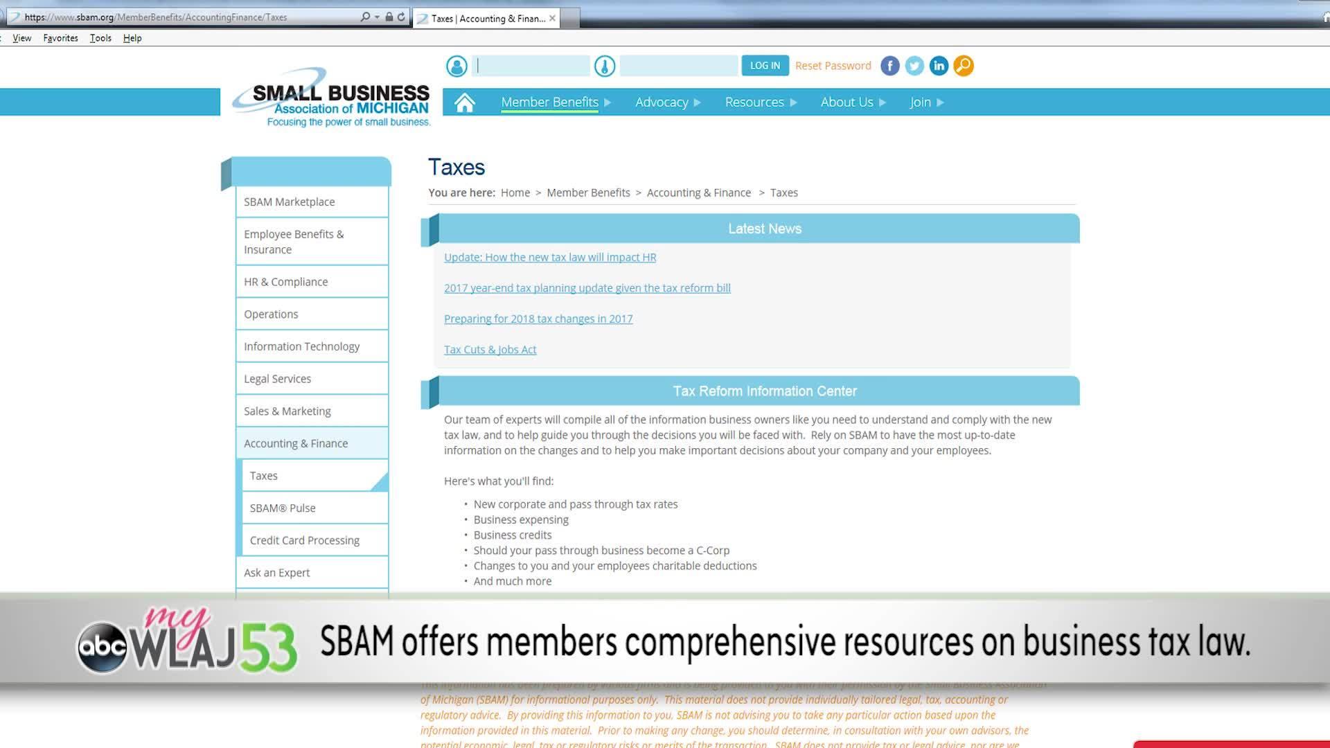 My Business | SBAM Tax