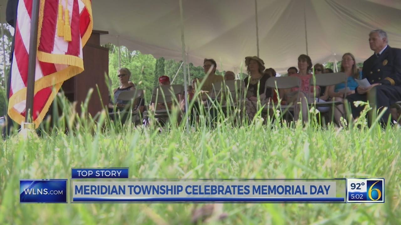 Meridian Township celebrates Memorial Day