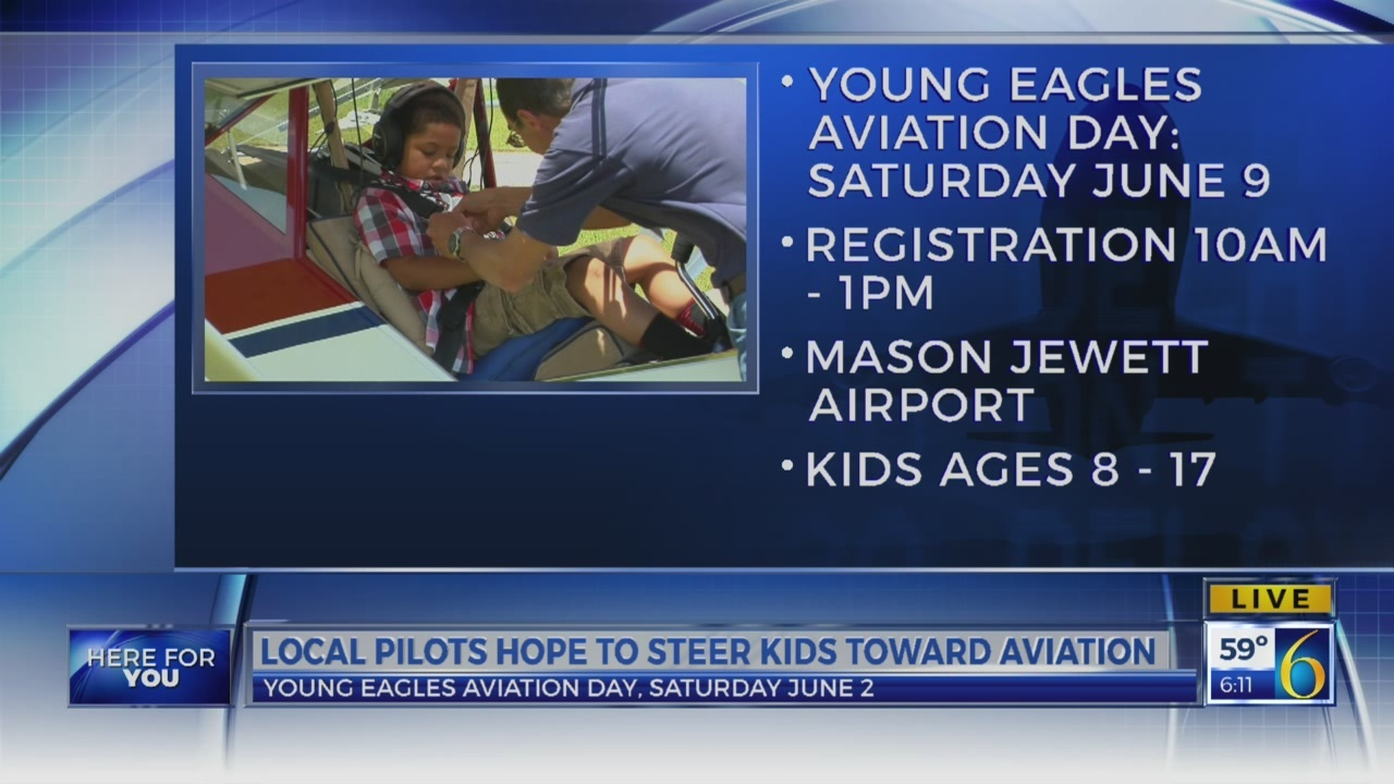 6 News This Morning: young eagles aviation day june 9