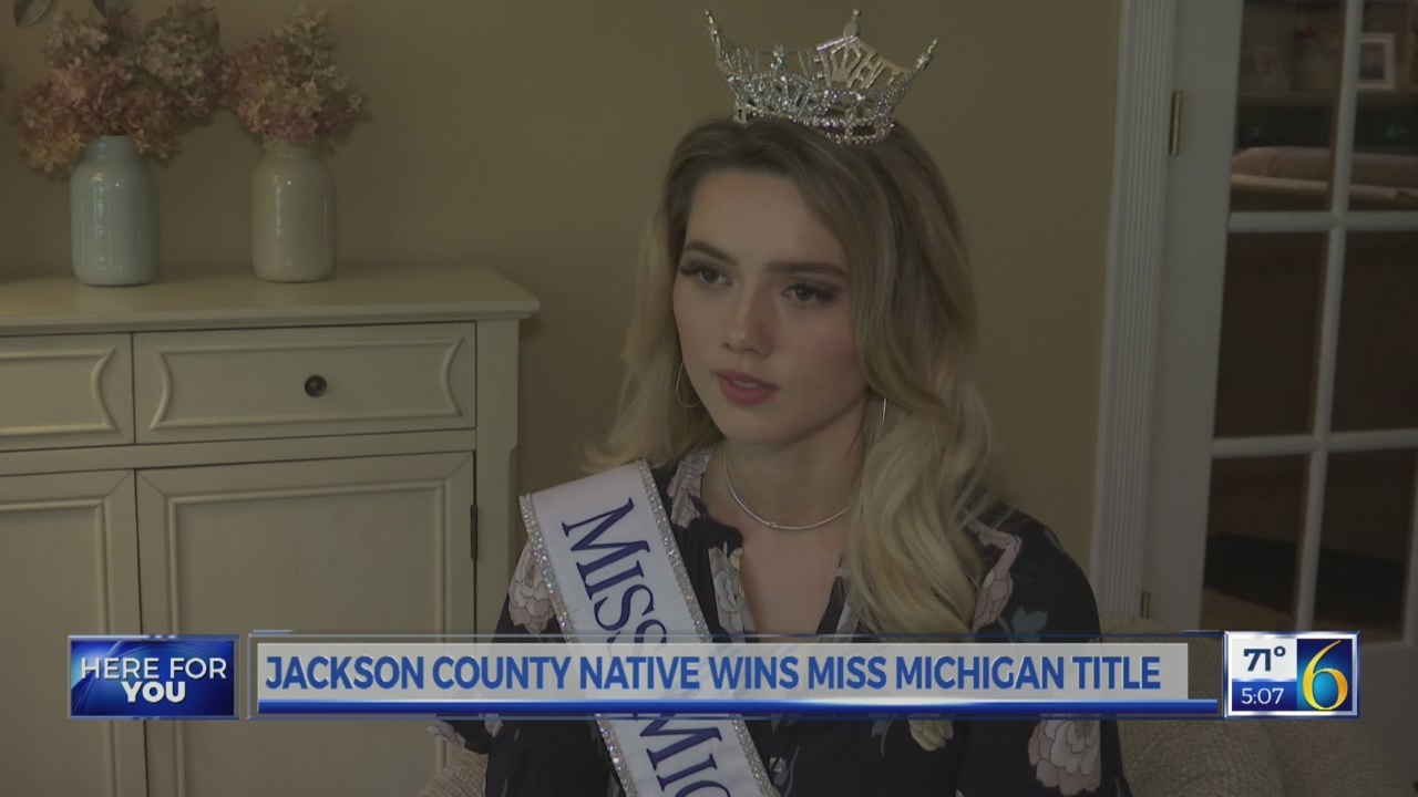 New Miss Michigan 2018 Interview